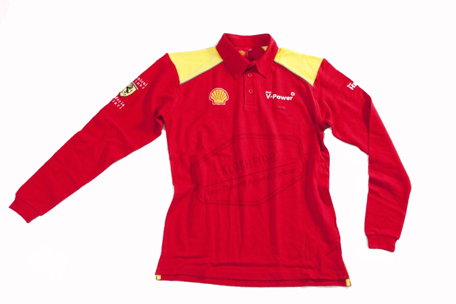 Shell Polo Sweat for work